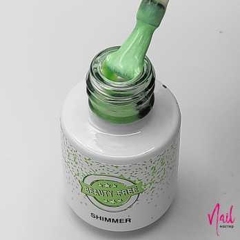 BF51-4 Гель-лак для покрытия ногтей. Shimmer #51 Лавровый зеленый Beauty Free