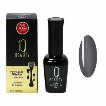 Каучуковый гель-лак IQ BEAUTY с кальцием 030, 10мл