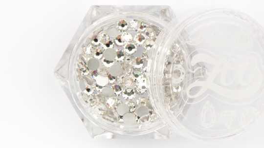 Стразы стеклянные прозрачные SS10 (2,8 мм) 100 шт 1084 Zoo Nail Art