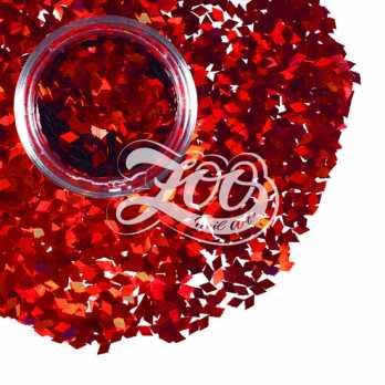1149 Ромбики для дизайна (красные) 1 г