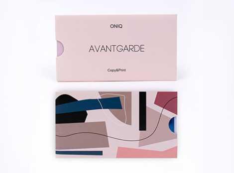 OTE-012 Пластина для стемпинга. Echo Avantgarde #1