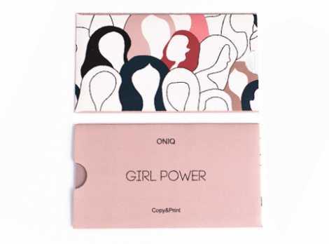 OTE-024 Пластина для стемпинга. Echo Girl Power#2