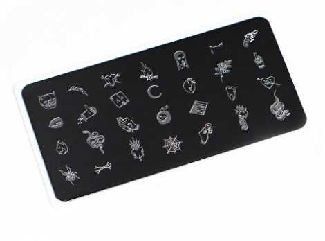 OTE-031 Пластина для стемпинга. Echo Tattoo#2