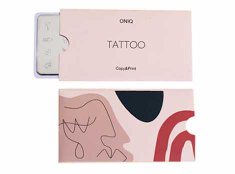 OTE-030 Пластина для стемпинга. Echo Tattoo#1