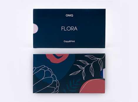 OTE-010 Пластина для стемпинга. Echo Flora #1