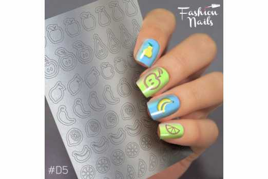 Fashion Nails трафарет Deep Design