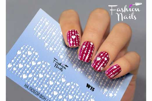 Fashion Nails слайдер FN W