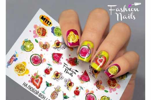 Fashion Nails слайдер FN M