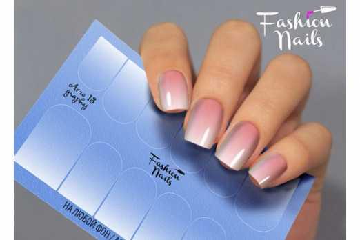 Fashion Nails слайдер AEROgraphy