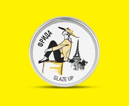 GCP 3-5 Glaze Up гель-паста для нейл-арта Фрида 5 г CNI