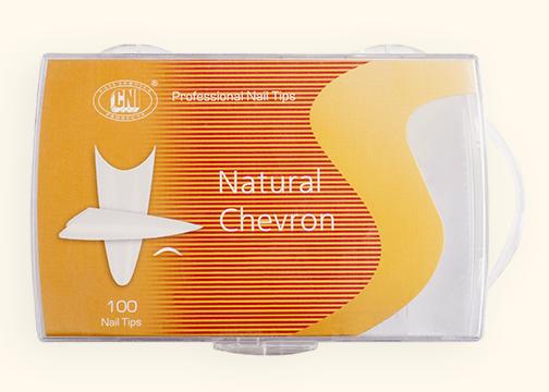 TANC 500 Типсы Arch Natural Chevron - Арочные Натуральный Шеврон (500 шт. в коробке)