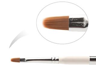 BCO 4-NWC (K 4H - 323Ф) Кисть из нейлона №4, деревянная ручка, в футляре