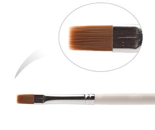 BMS 6-NW (K 6H - 3210) Кисть из нейлона №6, деревянная ручка