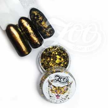 1074 Хлопья Юки (золотой, бронзовый)