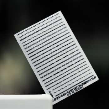 Стикер 3DN041 (черный)