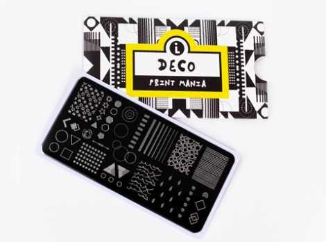 LPP-001 Пластина для стемпинга. Print Mania: Deco #1