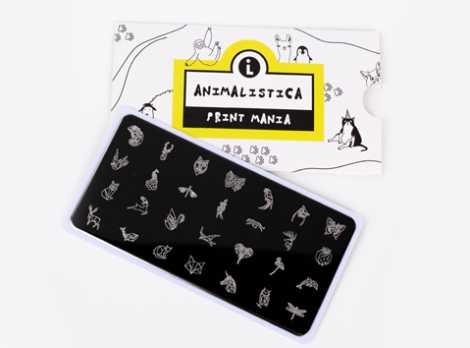 LLP-007 Пластина для стемпинга. Print Mania: Animalistica #2