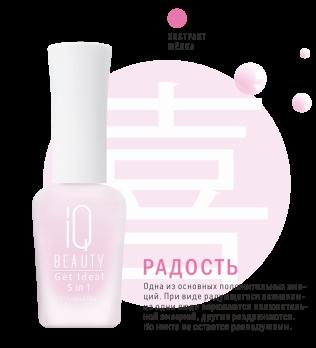 IQ Beauty Идеальный выравниватель ногтей 5 в 1 Get Ideal 5 in 1, 12,5мл IQTR005