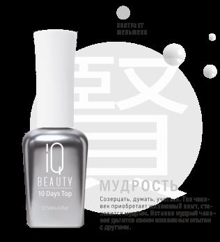 IQ Beauty Суперстойкая защита маникюра /10 Days Top, 12,5мл IQTR009