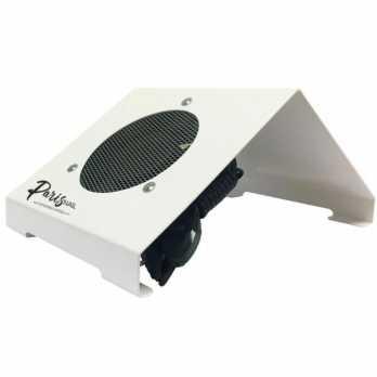 Пылесборник маникюрный (металл, белый) ND-PRO 80Вт ParisNail