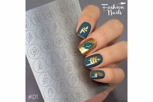 Fashion Nails трафарет Deep Design