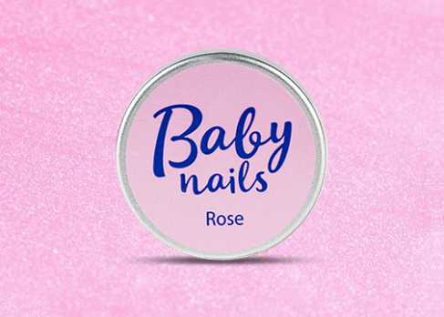 GBS 2-15 Baby Nails Rose gel - скульптурный розовый гель (15 гр) CNI