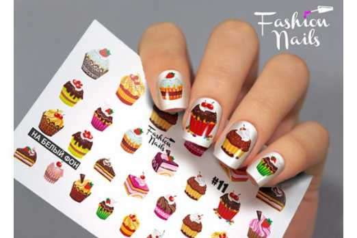 Fashion Nails слайдер FN #