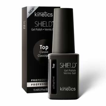 Kinetics Верхнее покрытие без липкого слоя SHIELD Classic Tack Free Top Coat, 15 мл